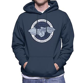 Alien Covenant Ship Logo Men's Sudadera con capucha