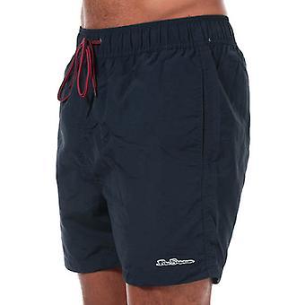 Men's Ben Sherman South Beach Swim Shorts i blå