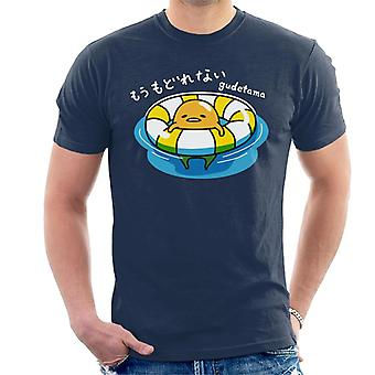 Gudetama Swimming Men's T-Shirt