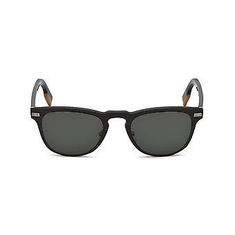 Ermenegildo Zegna - Accessories - Sunglasses - EZ0106_50N - Men - dimgray,saddlebrown