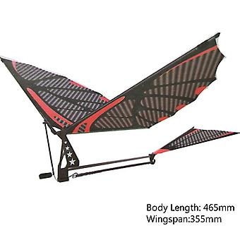 18inches Eagle Carbon Fiber Imitate Birds Assembly Flapping Wing Flight Model Aircraft Plane Toy