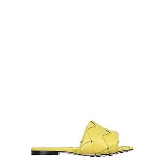 Bottega Veneta 608853vbss07602 Dames's Yellow Leather Sandals
