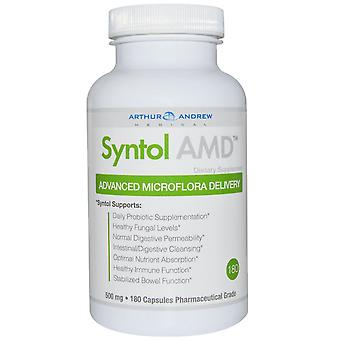Arthur Andrew Medical, Syntol AMD, Advanced Microflora Delivery, 500 mg, 180 Cap
