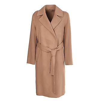 Fermé C9750863v22945 Femme's Beige Viscose Coat