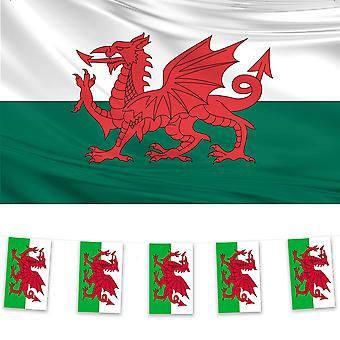 Wales Flag & Bunting Pack