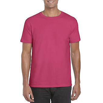 GILDAN G64000 Softstyle Men's T-Shirt in Heliconia