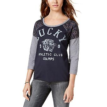 Lucky Brand | Varsity Floral Athletic Club T-Shirt