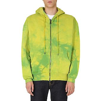 Vivienne Westwood 2602002321693m402 Men's Green Cotton Sweatshirt