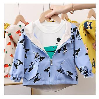 Vêtements d'extérieur pour enfants, coupe-vent Cute Jackets