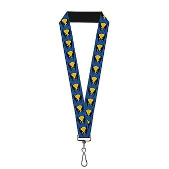 Wolverine Mask X-Men Marvel Lanyard