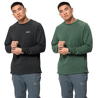 Jack Wolfskin hombres Nanuk Fleece Stretch Stuff Sack suéter ligero