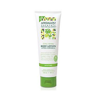 Andalou Naturals Body Lotion, Uplifting Citrus Verbena 8 Oz