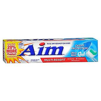 Aim Anticavity Fluorid Gel Zahnpasta Ultra Minze, 5,5 Oz