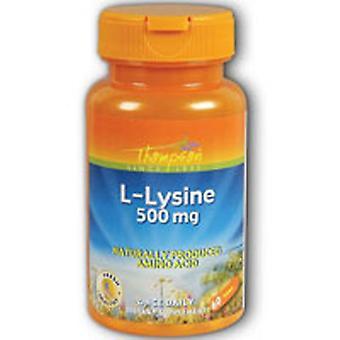 Thompson L-Lysine, 500 mg, 60 onglets