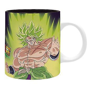 Dragon Ball Z Mug Broly Goku Vegeta Logo new Official Boxed