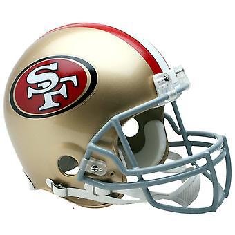 Riddell VSR4 Authentic Football Helmet - San Francisco 49ers