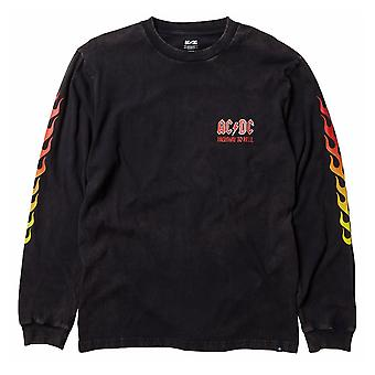 DC Shoes AC/DC Longsleeve Unisex Top in Black