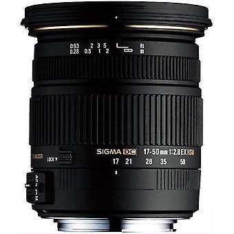 Sigma 17-50mm f / 2.8 ex dc os hsm fld suuri aukko standardi zoom linssi niin ...
