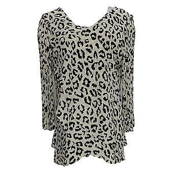 Laurie Felt Women's Top Woven Reversible Pleat Sleeve Blouse Ivory A379346