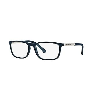 Emporio Armani EA3069 5474 Blue Rubber Glasses