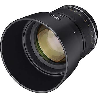 Rokinon series ii 85mm f1.4 weather sealed telephoto lens for mft
