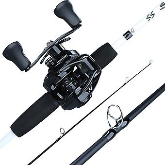 Fishing Combo, Carbon Rod With 12+1bb, Baitcasting Reel Fishing, Tackle Kit