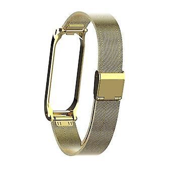 حزام معصم معدني لـ Mi Band 3 4 استبدال