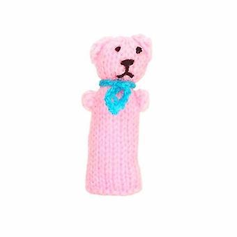 Roze Teddybeer VingerPop
