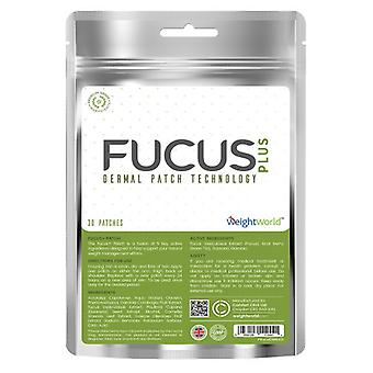 Fucus+ Patches x 30 - Natural Diet Patches, Craving Control, With Garcinia & Guarana, Targets Belly, Kind To Skin
