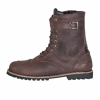Spada Pilgrim Grande Brown Motorcycle Boot CE Approuvé