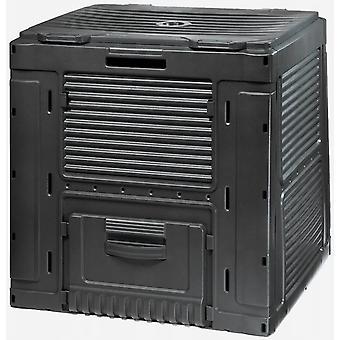 Pojemnik na kompostownik ogrodowy 470 L - śmieci ogrodowe - czarny
