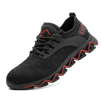 Bezpečnost Práce Muži Anti-rozbíjející ocelové toe boty