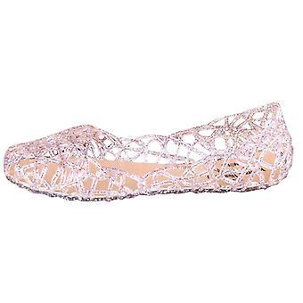 سيدة الصنادل الصيف / عارضة جيلي أحذية والصنادل