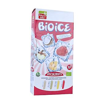 Special fruits popsicles 10 units of 40ml