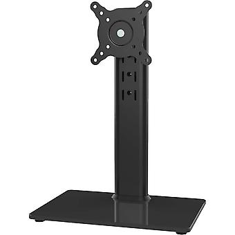 Single LCD Computer Monitor Free-Standing Desk Stand Riser for 13 inch to 32 inch Screen
