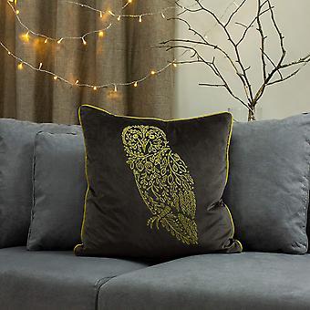 Furn Forest Fauna Owl Cushion Cover