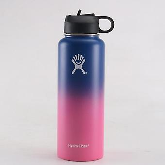 Vacuum Insulated Flask, Stainless Steel, Water Bottle, Wide Mouth, Outdoors