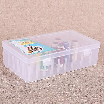 Sewing Thread Storage Box - Spools Bobbin Carrying Container