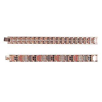 Health Energy Stones, Mens Stainless Steel Magnetic Bracelet, Bracelets &