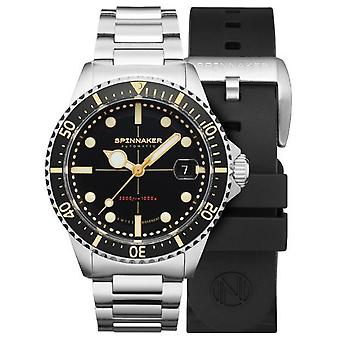 Spinnaker tesei mille metrl watch for Analog Man's Automatic with Stainless Steel Bracelet SP-5090-11