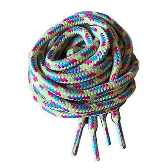 Light Multi Coloured Work or Hiking Boot Laces