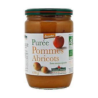 Apricot Apple puree without sugar 630 g
