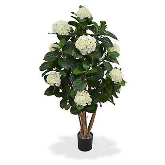 Keinotekoinen Hortensia rungossa 110 cm kerma