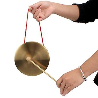 21cm Hand Gong Copper Cymbals With Wooden Stick