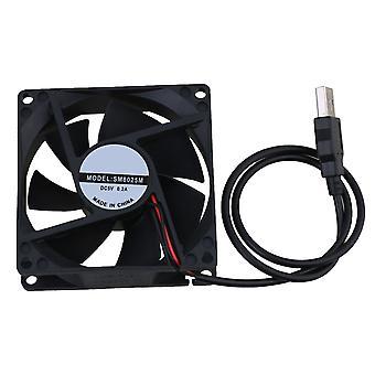Kugellager 5V Portabel USB Powered Case Fan für PC Computer Cases