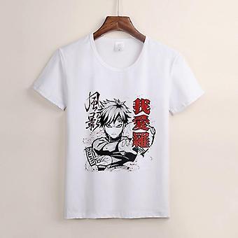 Fashion Japanese Anime Sasuke Cartoon Tshirts