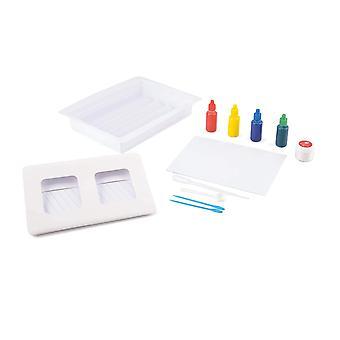 Made It! TY6135 Marbling Craft Set, Kids Photo Frame Painting Kit