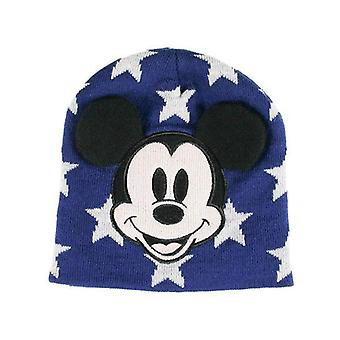 Child hat mickey mouse navy blue