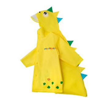 Children's Cartoon Color Raincoat And Rain Boots Waterproof Outdoor Set