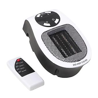 Remote Control Wall-outlet, Mini Electric Air Heater